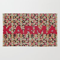 karma Area & Throw Rugs featuring kARMA by thecatalyst