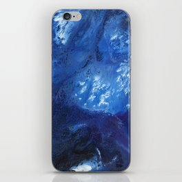 Abundant Blue iPhone Skin