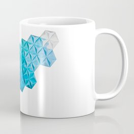 Origami One-One-Nine Blue Coffee Mug