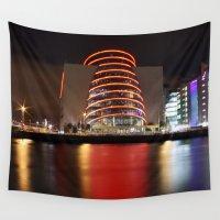 dublin Wall Tapestries featuring Dublin Convention Centre by Ciaran Mcg