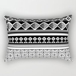 Modern Black 2 Rectangular Pillow