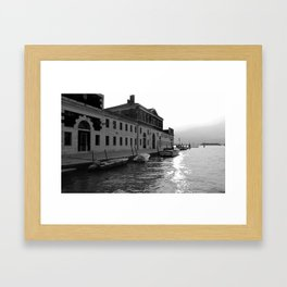 Venice Gran Canal Framed Art Print