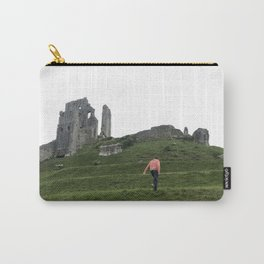 Corfe Castle Wanderlust medieval Carry-All Pouch