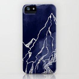 A Mammoth Night iPhone Case