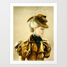 Edith Cushing Art Print