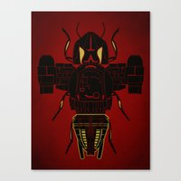 firefly Canvas Prints featuring Firefly by Danny Haas