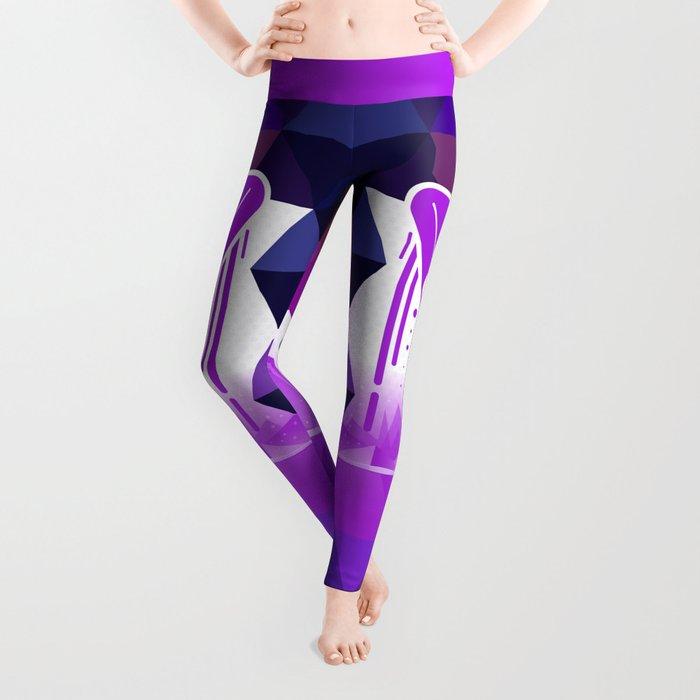 Grape Popsicle Leggings