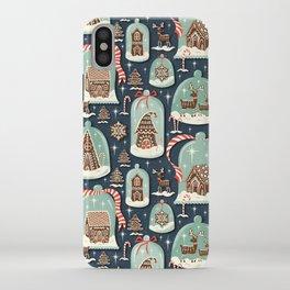 Gingerbread Village iPhone Case