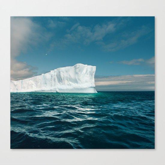 North Atlantic Iceberg Canvas Print