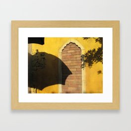 Under the Moroccan Sun Framed Art Print
