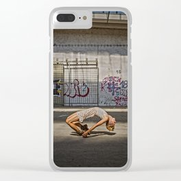 LEVITATION Clear iPhone Case