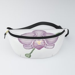 Violet Orchid Fanny Pack