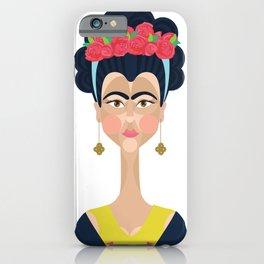 Geo Frida  iPhone Case