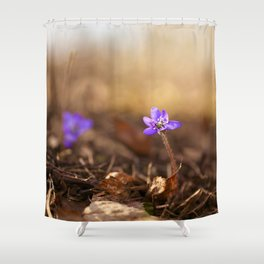 Come with me  Hepatica Forest #decor #society6 Shower Curtain