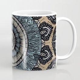 Subtle Tone Mandala Coffee Mug