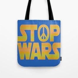 Stop Wars Peace Poster Tote Bag