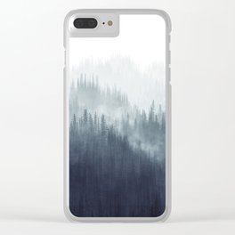 Forest Haze Clear iPhone Case