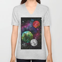 A Galaxy Far Away Unisex V-Neck