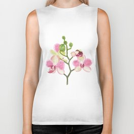 Pink Orchid Biker Tank