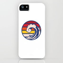 Ride the Wave iPhone Case