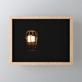 A little Light Framed Mini Art Print