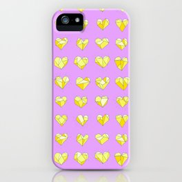 Heart of Stone 04 iPhone Case