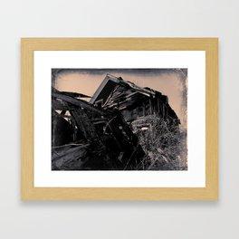 La grange Framed Art Print