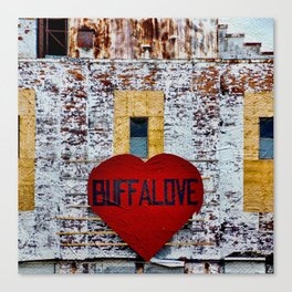 Buffalo Urban statement Canvas Print