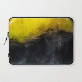 Vivid Mix Of Ink Clouds Laptop Sleeve