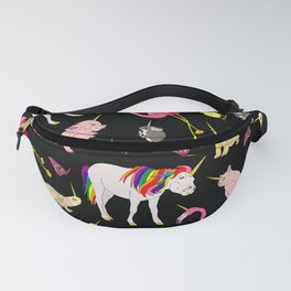 Funny Unicorn Party Fanny Pack