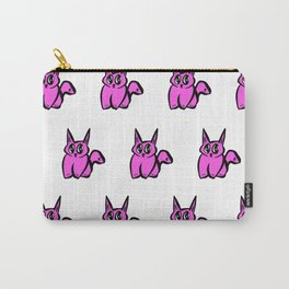 The Pink Pussy Cat Parade Carry-All Pouch