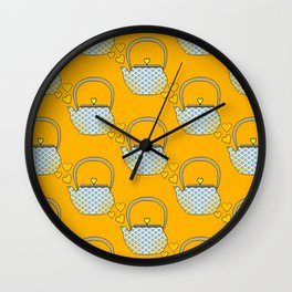 I Love My Little Tea Pot Wall Clock