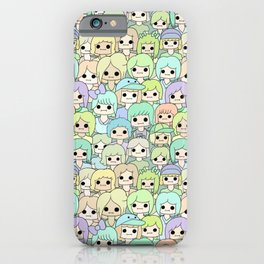 more faces never met (ver. 2) iPhone Case