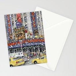 NY at Christmas Stationery Cards
