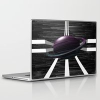 saturn Laptop & iPad Skins featuring Saturn by Isaak_Rodriguez