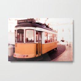 The 25 in Lisbon Metal Print