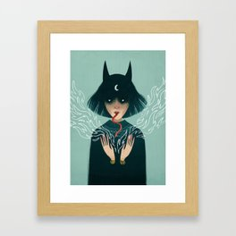 Devil Framed Art Print