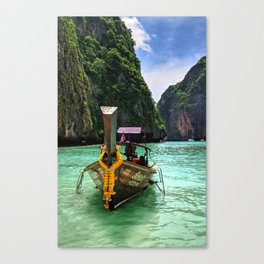 Boats of Thailand Canvas Print