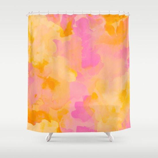 ROYAL BLUSH Shower Curtain