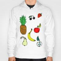 fruit Hoodies featuring Fruit by krrstnn