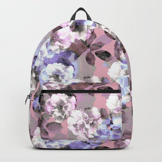 Vintage Floral Garden #society6 #decor #buyart Backpack