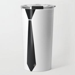 Initial Tie Travel Mug