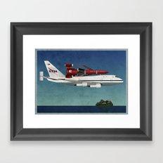 Thunderbird Carrier Framed Art Print