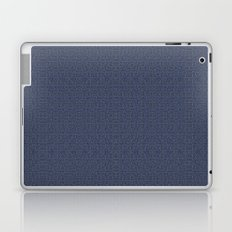Squircles in blue Laptop & iPad Skin