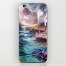 Polluted Delta iPhone Skin