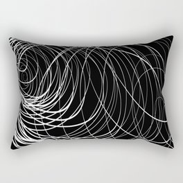 B&W Compex Swirl Rectangular Pillow