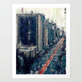 Paulista Avenue Art Print