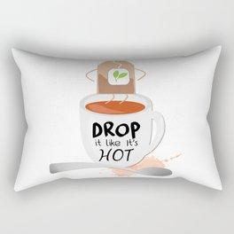 Drop It Like It's Hot Rectangular Pillow