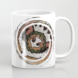 The Holy Dove & Crown Of Thorns Coffee Mug