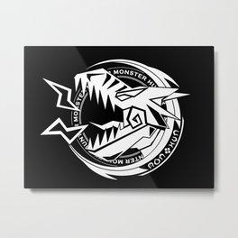 Tigrex Sigil [White] Metal Print